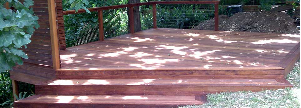 timber decks and decking