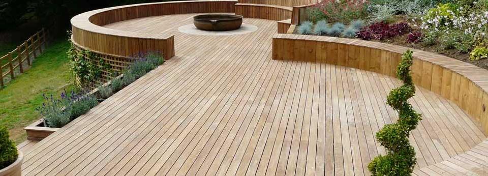 timber decking hamilton