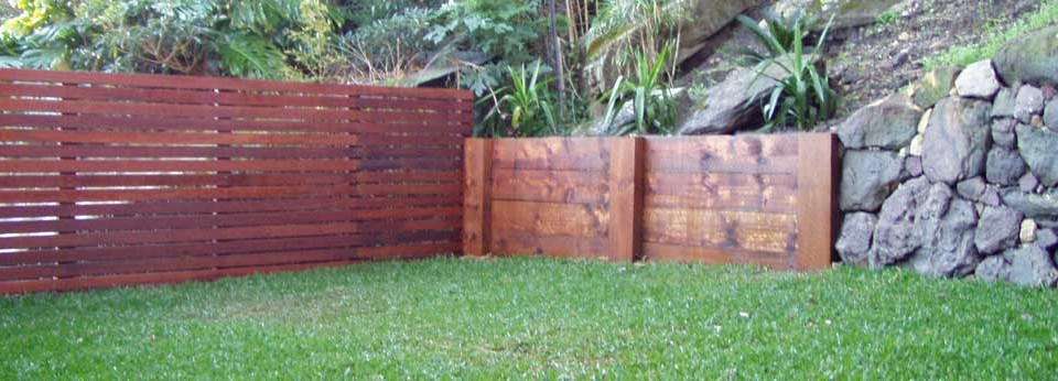 how to build free timber wall